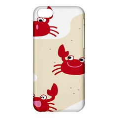 Sand Animals Red Crab Apple iPhone 5C Hardshell Case