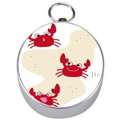 Sand Animals Red Crab Silver Compasses