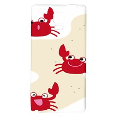 Sand Animals Red Crab Galaxy Note 4 Back Case