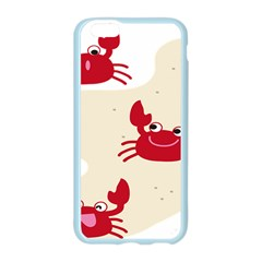 Sand Animals Red Crab Apple Seamless iPhone 6/6S Case (Color)