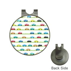 Small Car Red Yellow Blue Orange Black Kids Hat Clips with Golf Markers