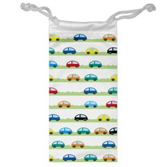 Small Car Red Yellow Blue Orange Black Kids Jewelry Bag