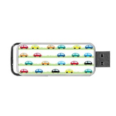 Small Car Red Yellow Blue Orange Black Kids Portable USB Flash (Two Sides)
