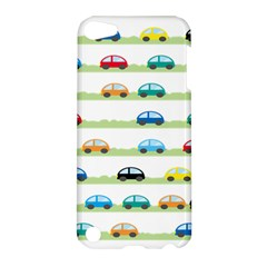 Small Car Red Yellow Blue Orange Black Kids Apple iPod Touch 5 Hardshell Case