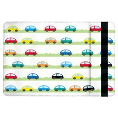Small Car Red Yellow Blue Orange Black Kids iPad Air Flip