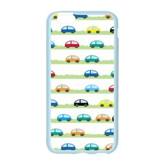 Small Car Red Yellow Blue Orange Black Kids Apple Seamless iPhone 6/6S Case (Color)