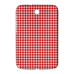 Plaid Red White Line Samsung Galaxy Note 8.0 N5100 Hardshell Case