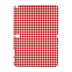 Plaid Red White Line Galaxy Note 1