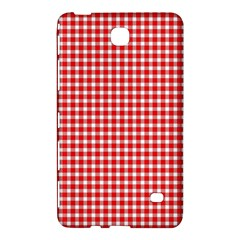 Plaid Red White Line Samsung Galaxy Tab 4 (7 ) Hardshell Case