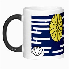 Sunflower Line Blue Yellpw Morph Mugs