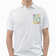Star Flower Rainbow Sunflower Sakura Golf Shirts