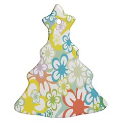 Star Flower Rainbow Sunflower Sakura Ornament (Christmas Tree)