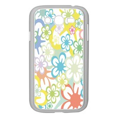 Star Flower Rainbow Sunflower Sakura Samsung Galaxy Grand DUOS I9082 Case (White)