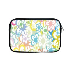 Star Flower Rainbow Sunflower Sakura Apple Macbook Pro 13  Zipper Case