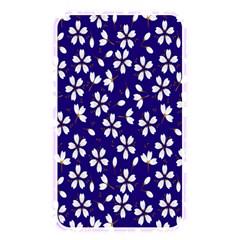 Star Flower Blue White Memory Card Reader