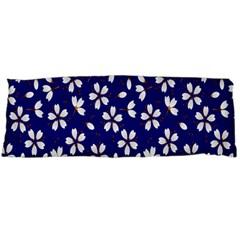 Star Flower Blue White Body Pillow Case (Dakimakura)