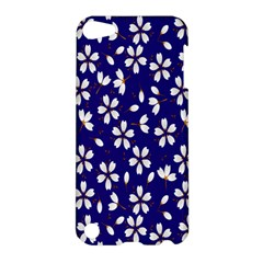 Star Flower Blue White Apple iPod Touch 5 Hardshell Case