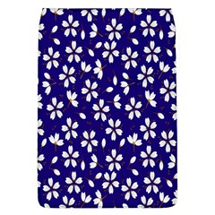 Star Flower Blue White Flap Covers (L)