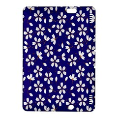 Star Flower Blue White Kindle Fire HDX 8.9  Hardshell Case