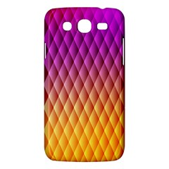 Triangle Plaid Chevron Wave Pink Purple Yellow Rainbow Samsung Galaxy Mega 5.8 I9152 Hardshell Case