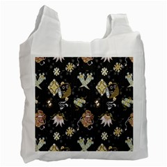 Traditional Music Drum Batik Recycle Bag (One Side)