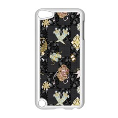 Traditional Music Drum Batik Apple iPod Touch 5 Case (White)