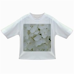 Hydrangea Flowers Blossom White Floral Photography Elegant Bridal Chic  Infant/Toddler T-Shirts