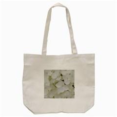 Hydrangea Flowers Blossom White Floral Photography Elegant Bridal Chic  Tote Bag (Cream)