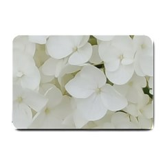 Hydrangea Flowers Blossom White Floral Photography Elegant Bridal Chic  Small Doormat