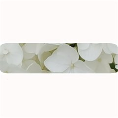 Hydrangea Flowers Blossom White Floral Photography Elegant Bridal Chic  Large Bar Mats