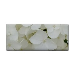 Hydrangea Flowers Blossom White Floral Photography Elegant Bridal Chic  Cosmetic Storage Cases