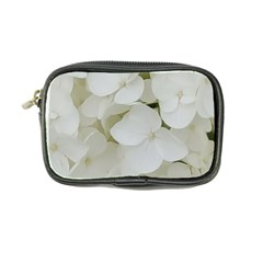 Hydrangea Flowers Blossom White Floral Photography Elegant Bridal Chic  Coin Purse