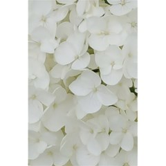 Hydrangea Flowers Blossom White Floral Photography Elegant Bridal Chic  5.5  x 8.5  Notebooks