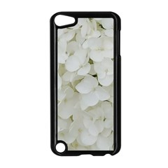 Hydrangea Flowers Blossom White Floral Photography Elegant Bridal Chic  Apple iPod Touch 5 Case (Black)