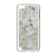 Hydrangea Flowers Blossom White Floral Photography Elegant Bridal Chic  Apple iPod Touch 5 Case (White)
