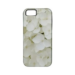 Hydrangea Flowers Blossom White Floral Photography Elegant Bridal Chic  Apple iPhone 5 Classic Hardshell Case (PC+Silicone)