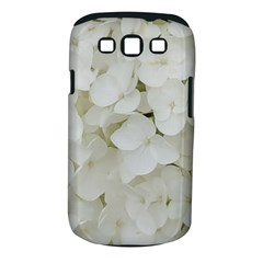 Hydrangea Flowers Blossom White Floral Photography Elegant Bridal Chic  Samsung Galaxy S III Classic Hardshell Case (PC+Silicone)