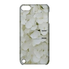 Hydrangea Flowers Blossom White Floral Photography Elegant Bridal Chic  Apple iPod Touch 5 Hardshell Case with Stand