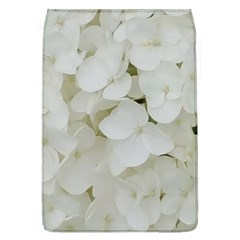Hydrangea Flowers Blossom White Floral Photography Elegant Bridal Chic  Flap Covers (L)