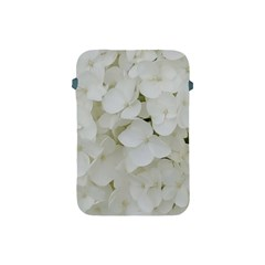 Hydrangea Flowers Blossom White Floral Photography Elegant Bridal Chic  Apple iPad Mini Protective Soft Cases