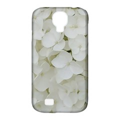 Hydrangea Flowers Blossom White Floral Photography Elegant Bridal Chic  Samsung Galaxy S4 Classic Hardshell Case (PC+Silicone)