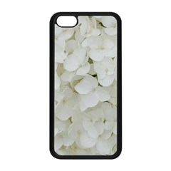 Hydrangea Flowers Blossom White Floral Photography Elegant Bridal Chic  Apple iPhone 5C Seamless Case (Black)
