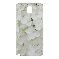 Hydrangea Flowers Blossom White Floral Photography Elegant Bridal Chic  Samsung Galaxy Note 3 N9005 Hardshell Back Case