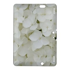 Hydrangea Flowers Blossom White Floral Photography Elegant Bridal Chic  Kindle Fire HDX 8.9  Hardshell Case