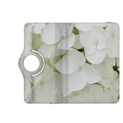 Hydrangea Flowers Blossom White Floral Photography Elegant Bridal Chic  Kindle Fire HDX 8.9  Flip 360 Case