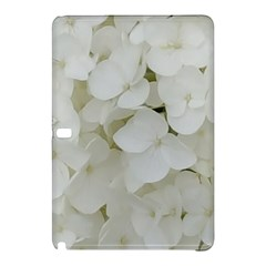 Hydrangea Flowers Blossom White Floral Photography Elegant Bridal Chic  Samsung Galaxy Tab Pro 10.1 Hardshell Case