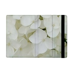 Hydrangea Flowers Blossom White Floral Photography Elegant Bridal Chic  iPad Mini 2 Flip Cases
