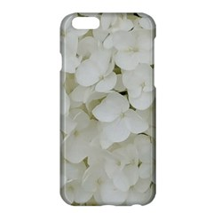 Hydrangea Flowers Blossom White Floral Photography Elegant Bridal Chic  Apple iPhone 6 Plus/6S Plus Hardshell Case