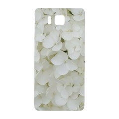 Hydrangea Flowers Blossom White Floral Photography Elegant Bridal Chic  Samsung Galaxy Alpha Hardshell Back Case