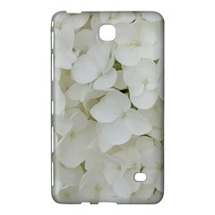 Hydrangea Flowers Blossom White Floral Photography Elegant Bridal Chic  Samsung Galaxy Tab 4 (8 ) Hardshell Case